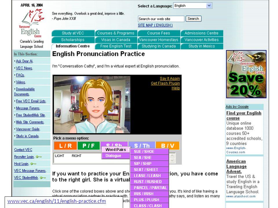 Un sito che usa la tecnologia sitepal