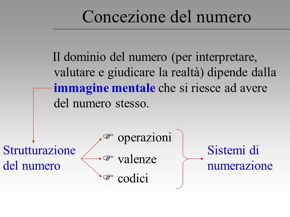 Concezione del numero