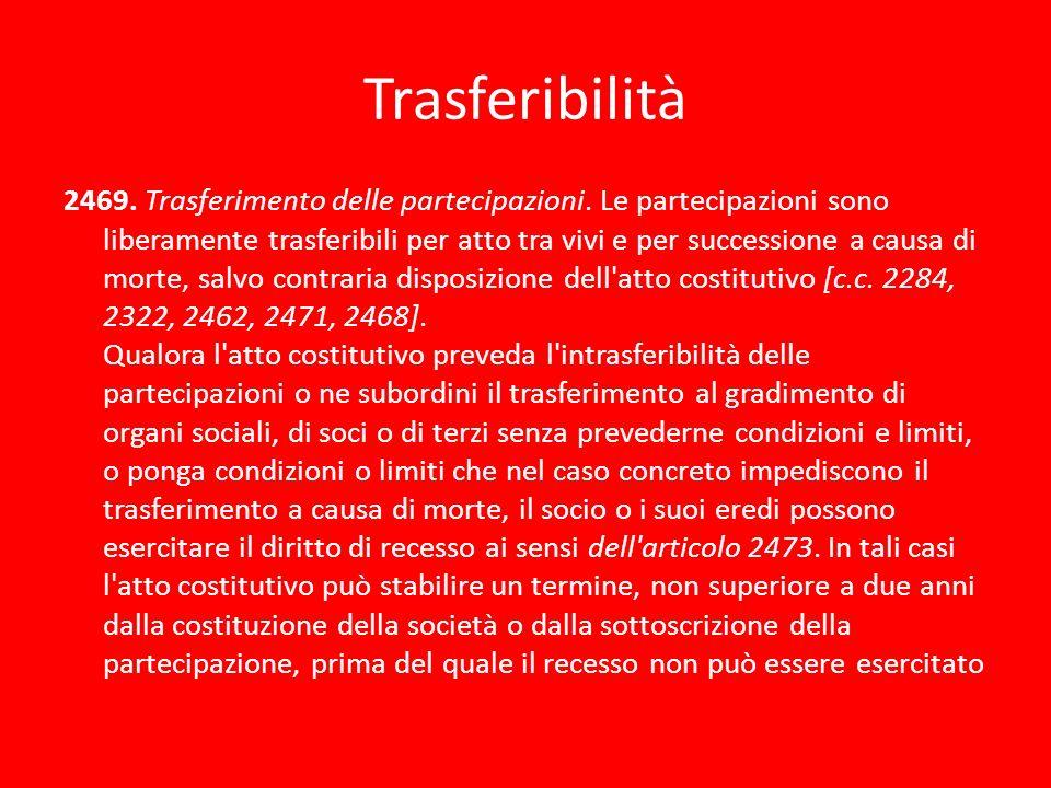 Trasferibilità