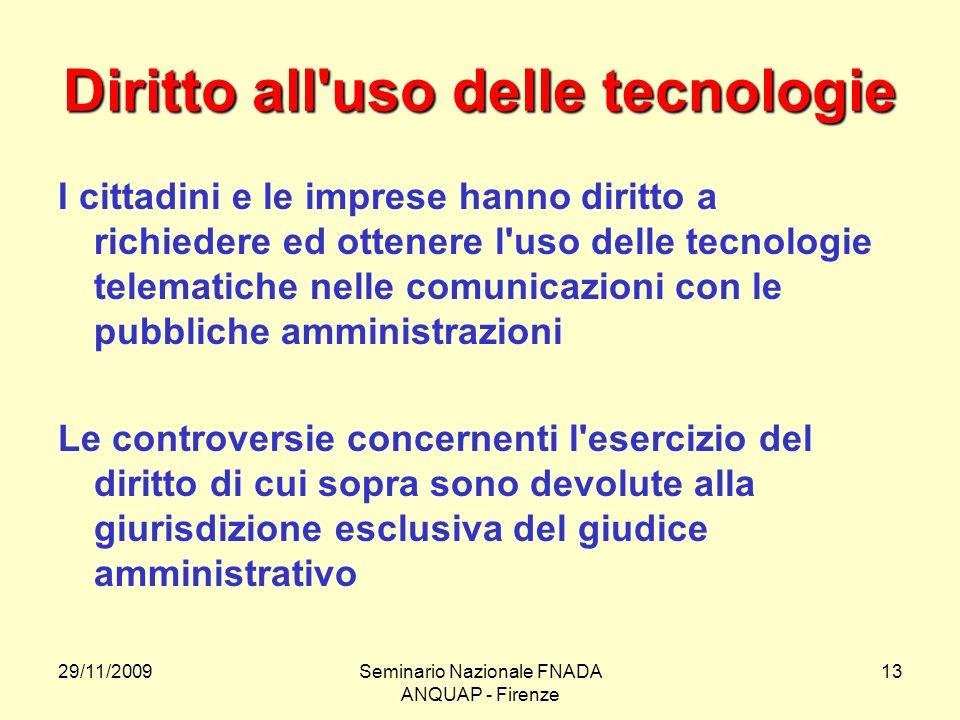 Il codice dell amministrazione digitale ppt video online - Diritto d uso immobile ...