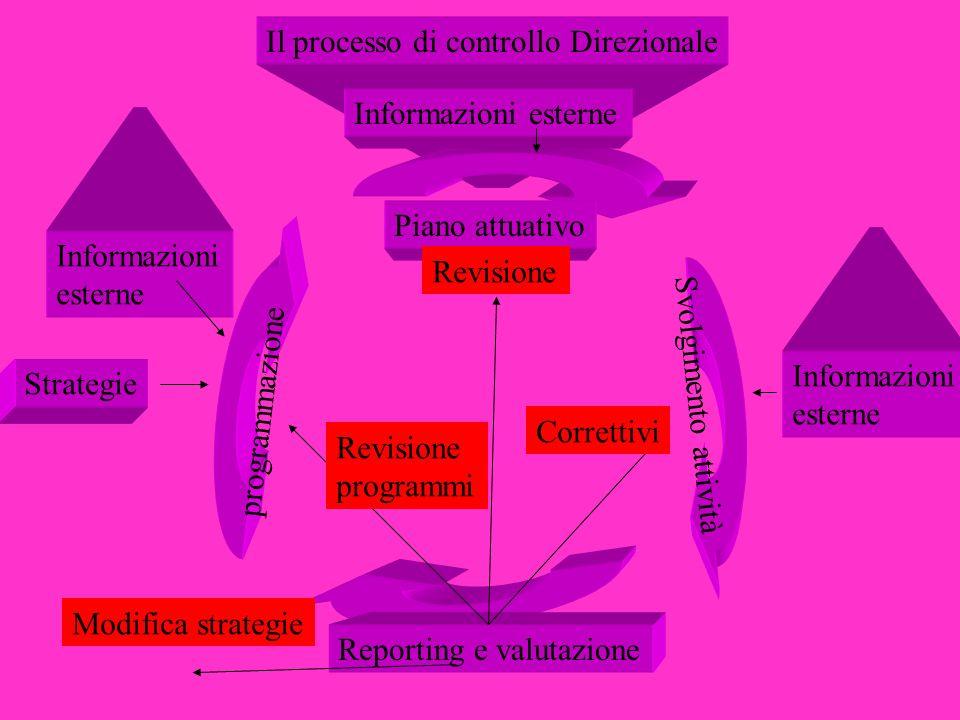 Il processo di controllo Direzionale