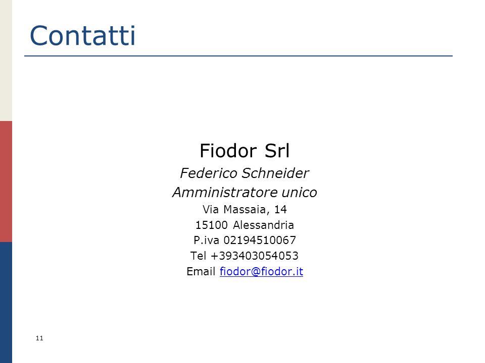 Email fiodor@fiodor.it