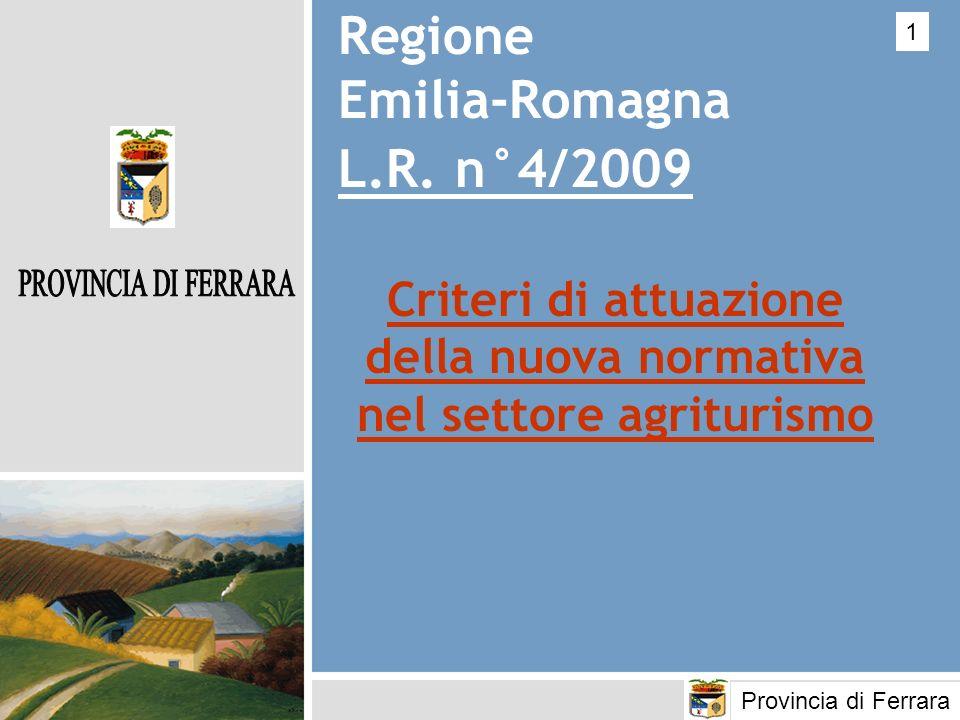 Regione Emilia-Romagna L.R. n°4/2009
