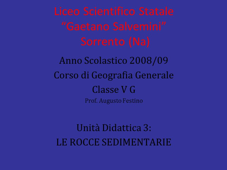 Liceo Scientifico Statale Gaetano Salvemini Sorrento (Na)