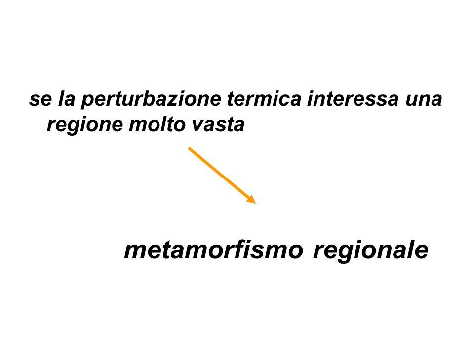 metamorfismo regionale