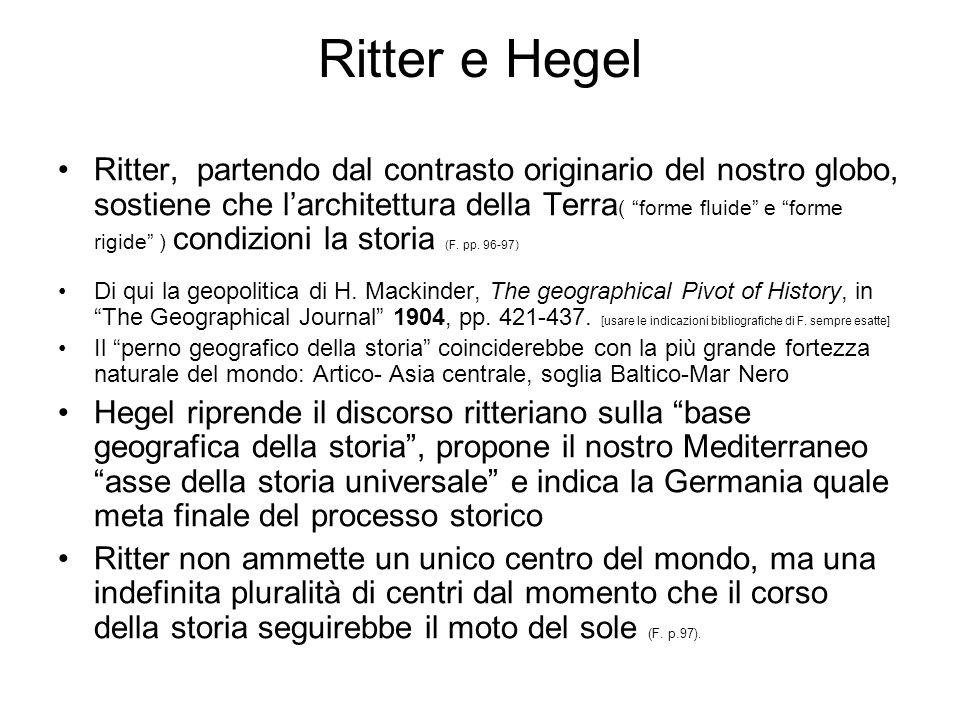 Ritter e Hegel