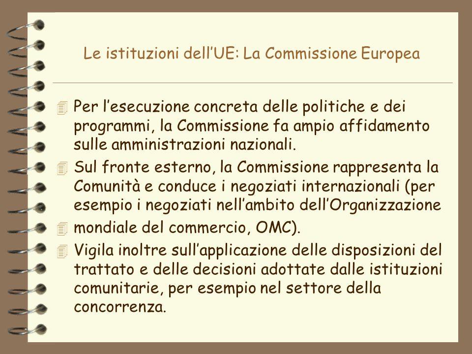 Le istituzioni dell'UE: La Commissione Europea