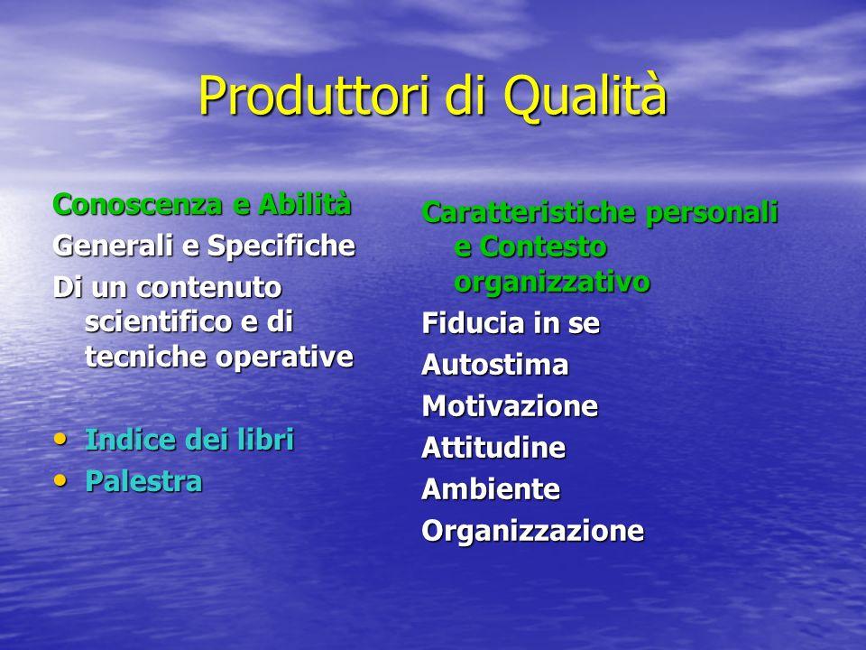 Produttori di Qualità Conoscenza e Abilità