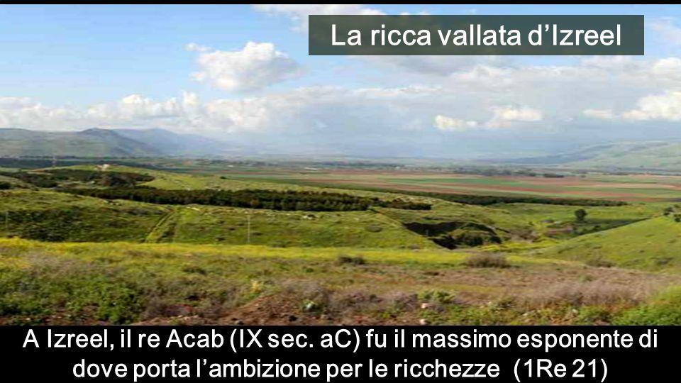 La ricca vallata d'Izreel
