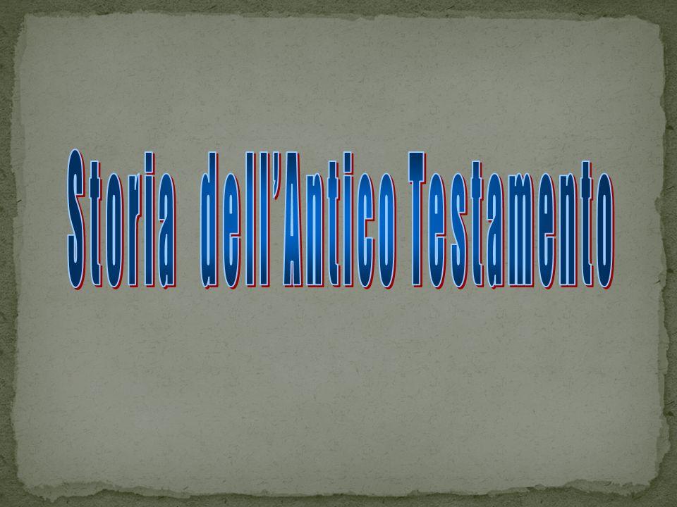 Storia dell'Antico Testamento