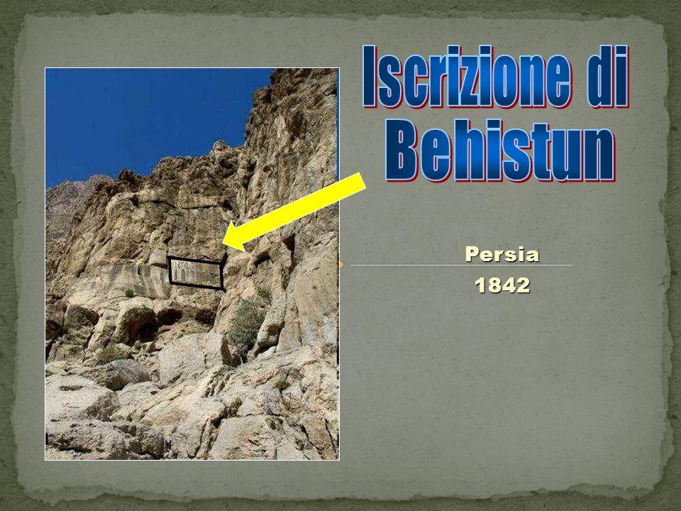 Iscrizione di Behistun