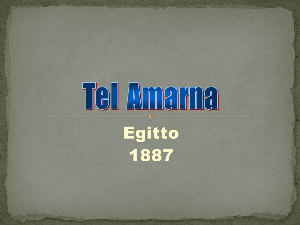 Tel Amarna Egitto 1887