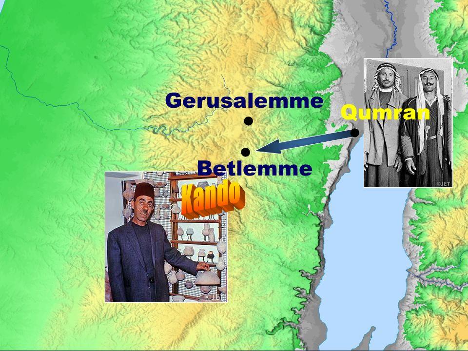 Gerusalemme Qumran    Betlemme Kando