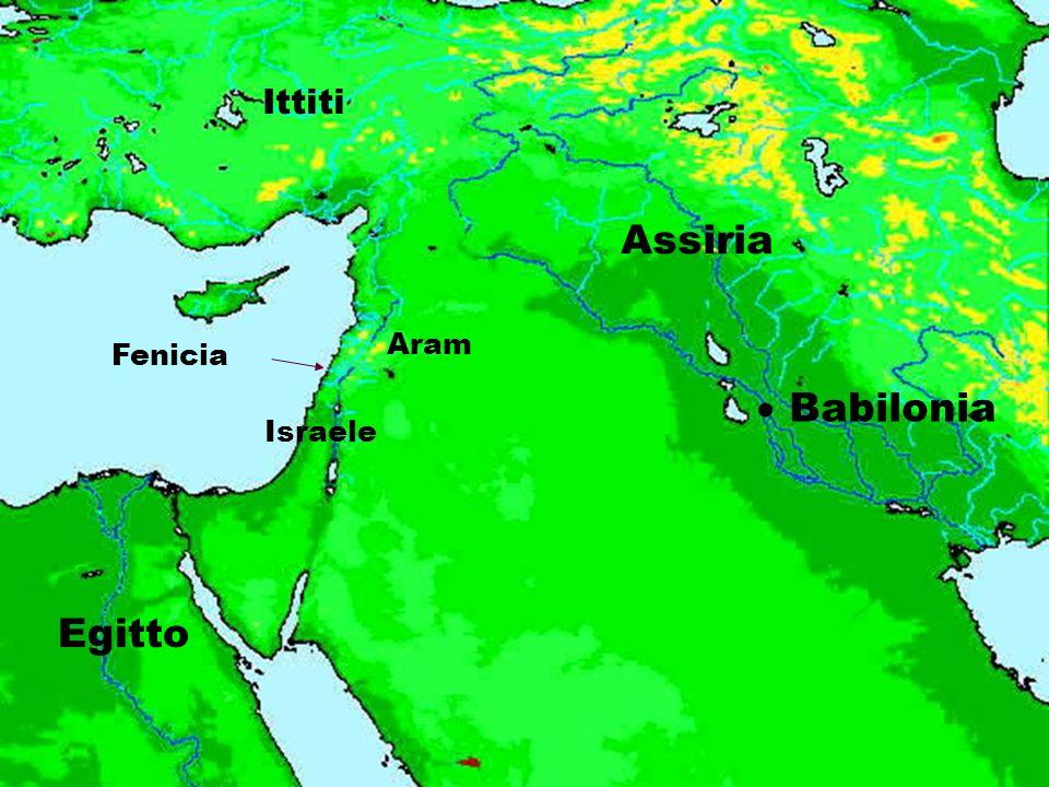 Ittiti Assiria Aram Fenicia  Babilonia Israele Egitto