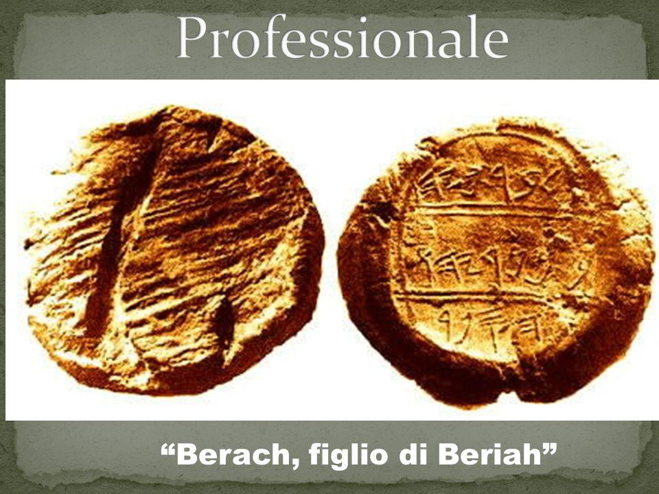 Professionale Berach, figlio di Beriah