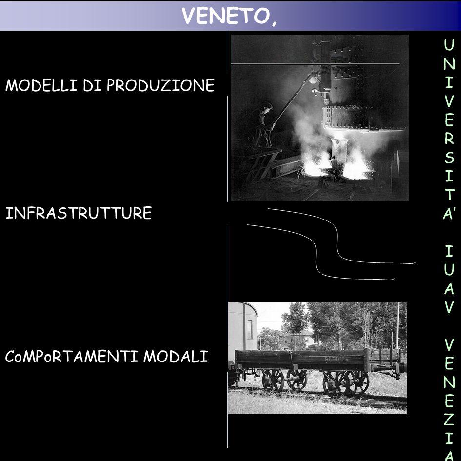 VENETO, MODELLI DI PRODUZIONE UNI VERSITA' INFRASTRUTTURE IUAV VENEZIA