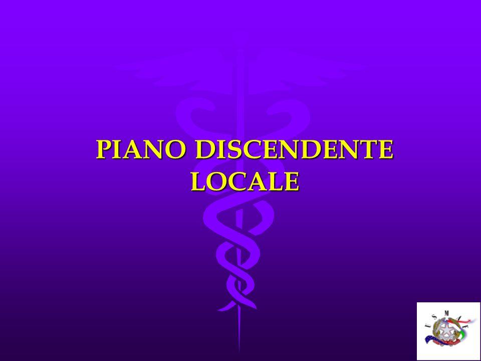 PIANO DISCENDENTE LOCALE