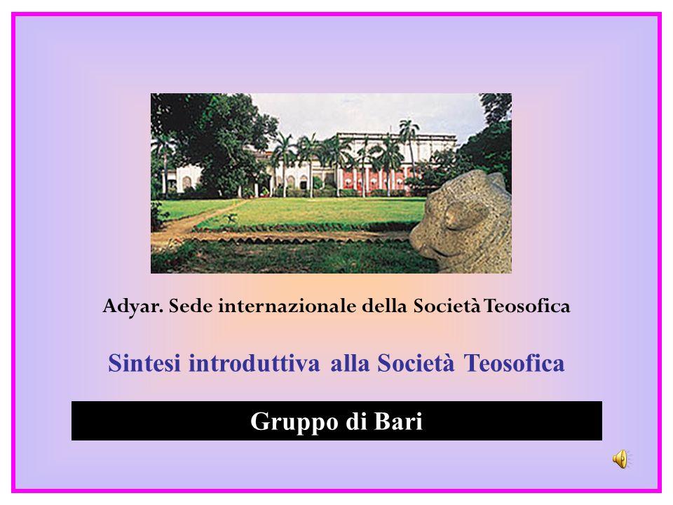 Sintesi introduttiva alla Società Teosofica Gruppo di Bari