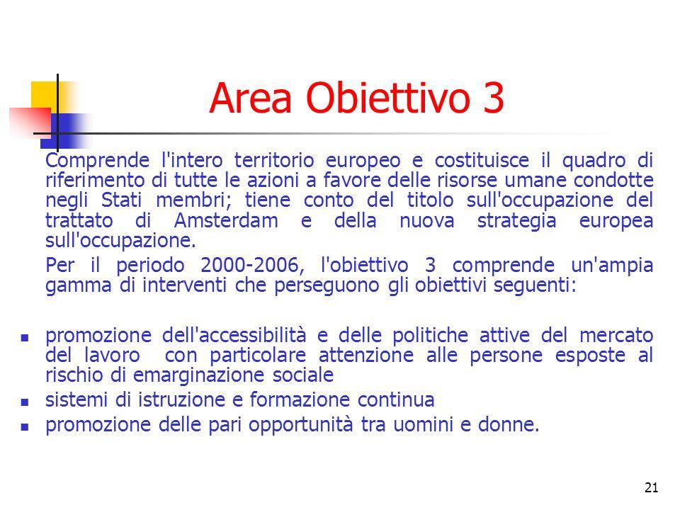 Area Obiettivo 3