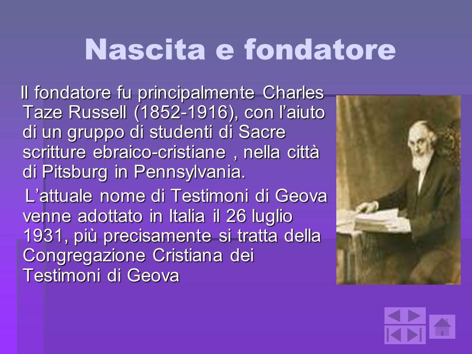 Nascita e fondatore