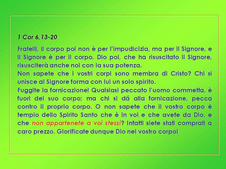 1 Cor 6,13-20
