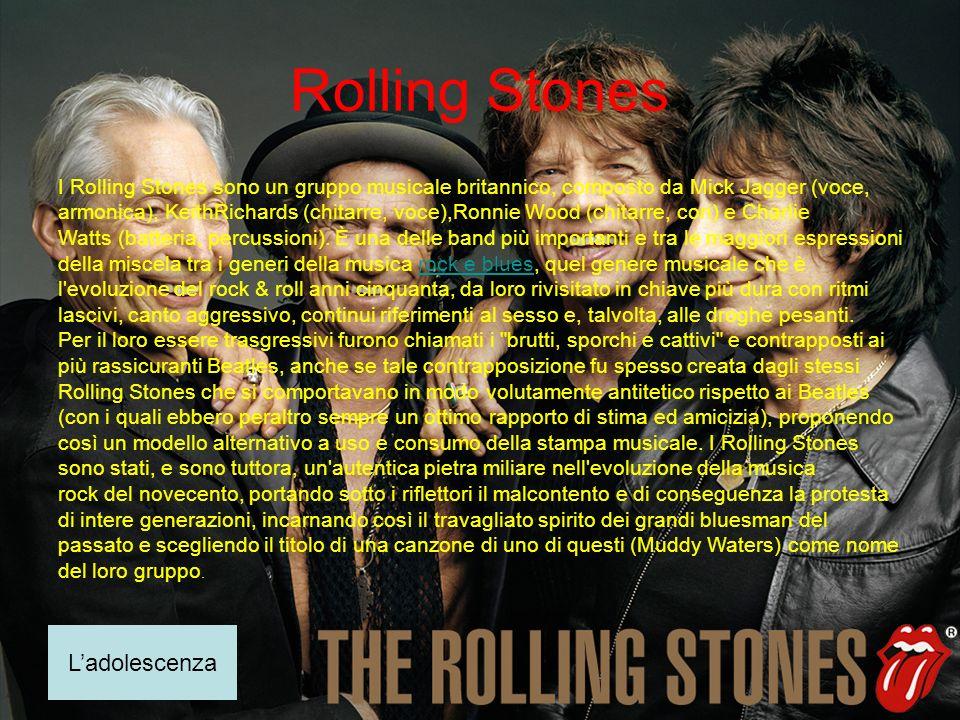 Rolling Stones L'adolescenza
