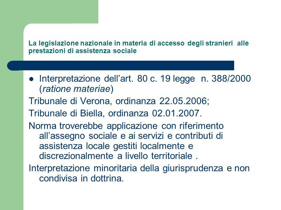 Tribunale di Verona, ordinanza 22.05.2006;
