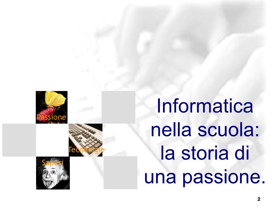 Informatica nella scuola: la storia di una passione.