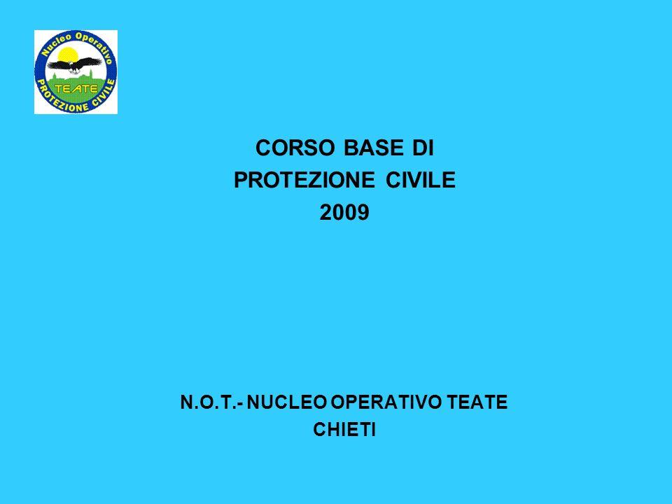 N.O.T.- NUCLEO OPERATIVO TEATE