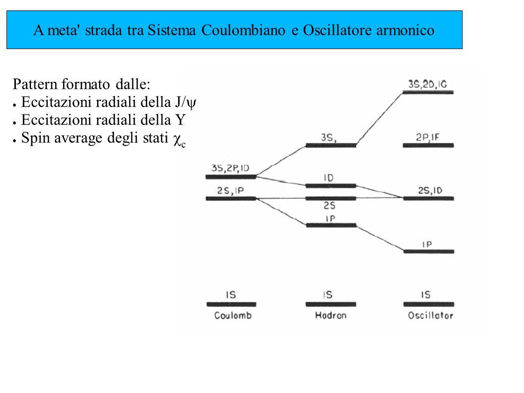 A meta strada tra Sistema Coulombiano e Oscillatore armonico