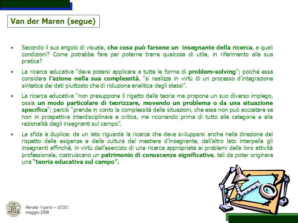 Van der Maren (segue)