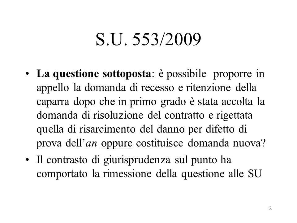S.U. 553/2009