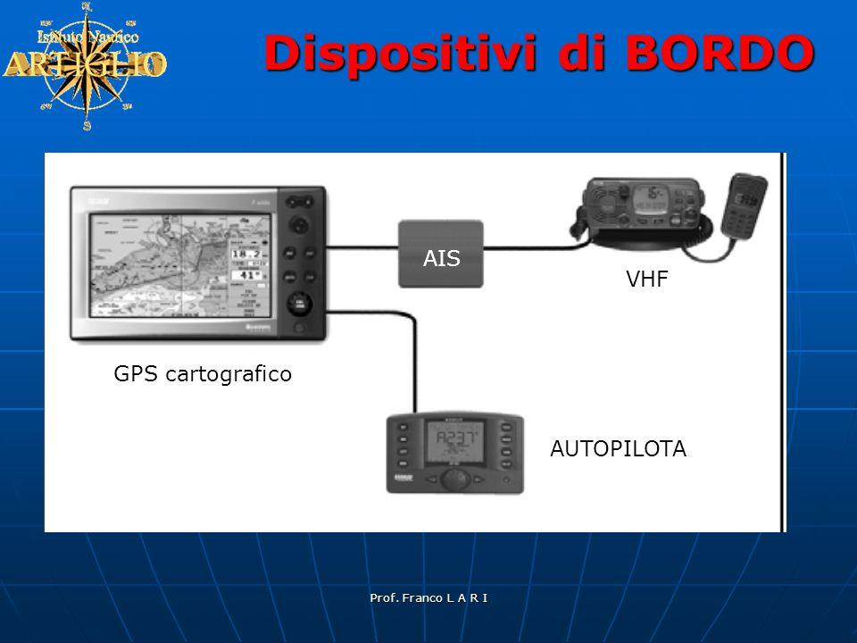 Dispositivi di BORDO AIS VHF GPS cartografico AUTOPILOTA