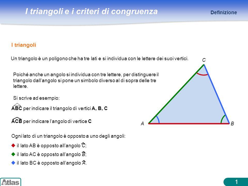 1 I triangoli Definizione