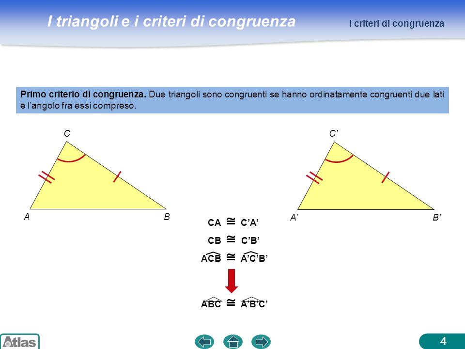 4 I criteri di congruenza