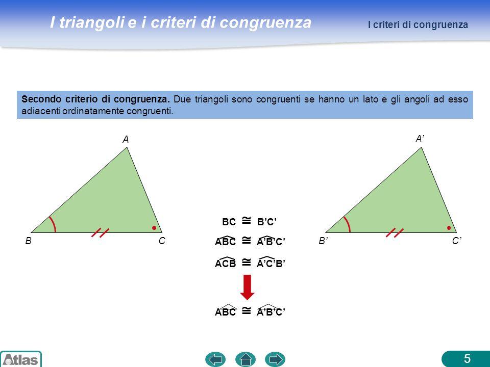 5 I criteri di congruenza