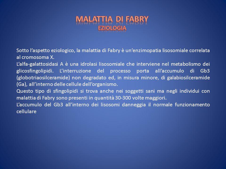 MALATTIA DI FABRY EZIOLOGIA