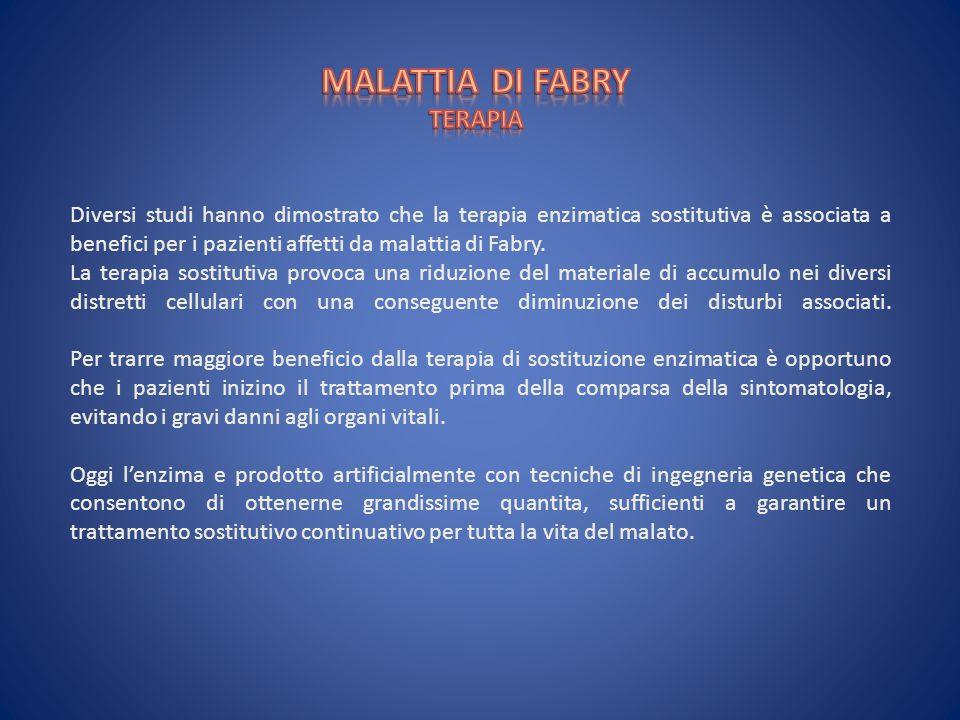 MALATTIA DI FABRY TERAPIA