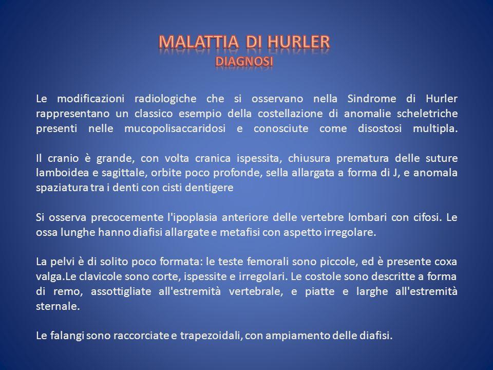 MALATTIA DI HURLER DIAGNOSI