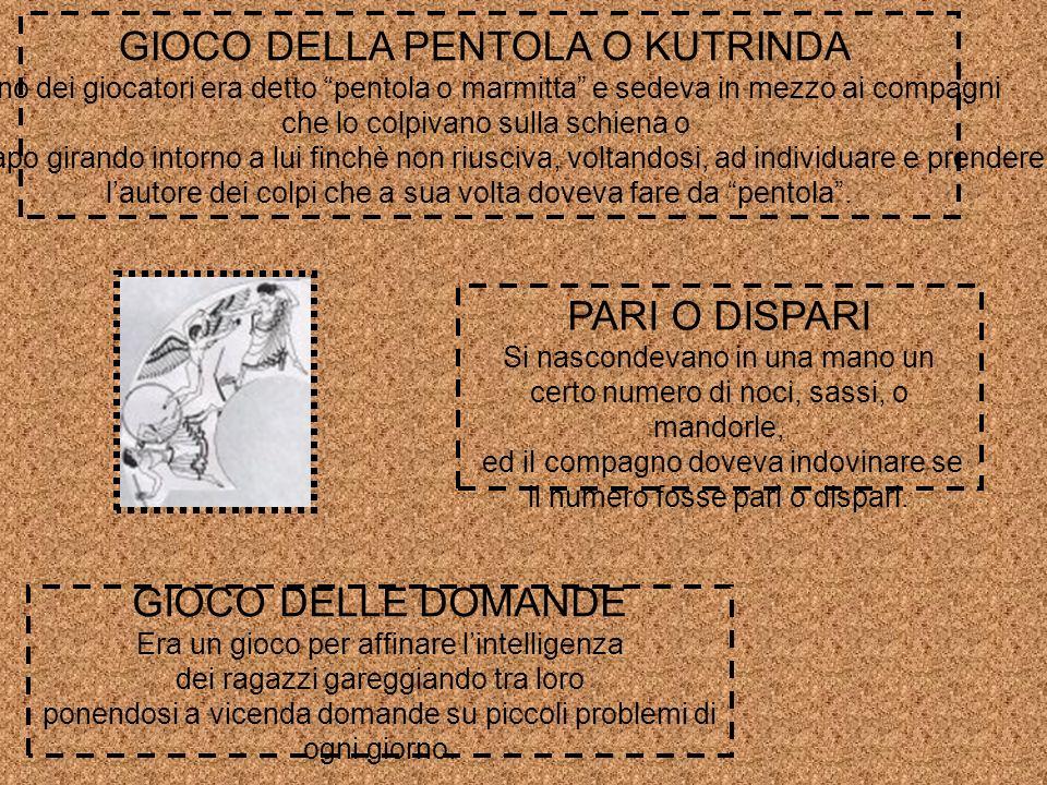 GIOCO DELLA PENTOLA O KUTRINDA