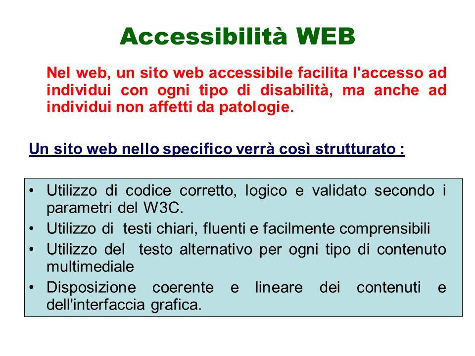 Accessibilità WEB