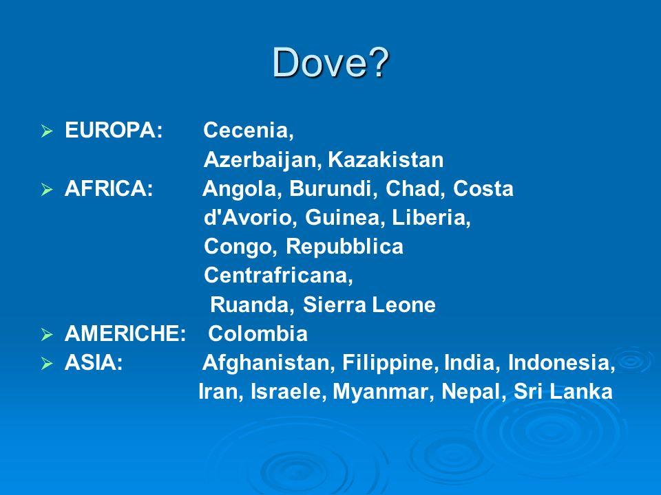 Dove EUROPA: Cecenia, Azerbaijan, Kazakistan