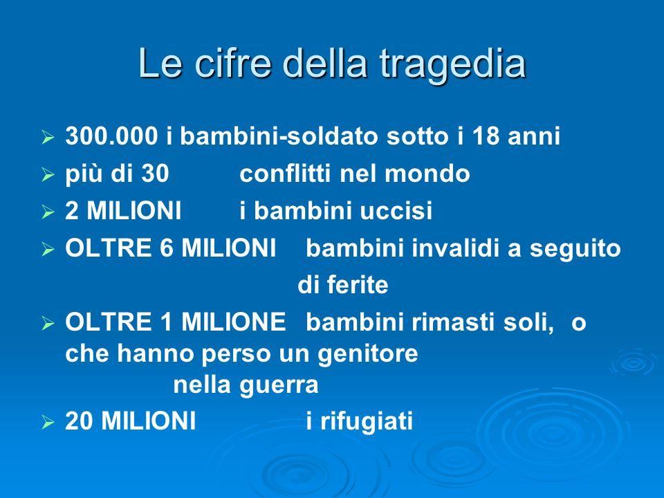 Le cifre della tragedia