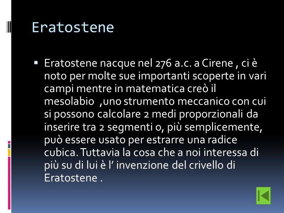 Eratostene