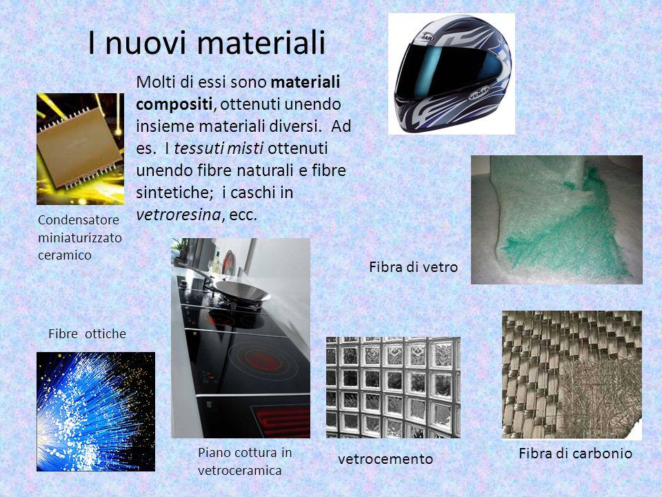 I nuovi materiali