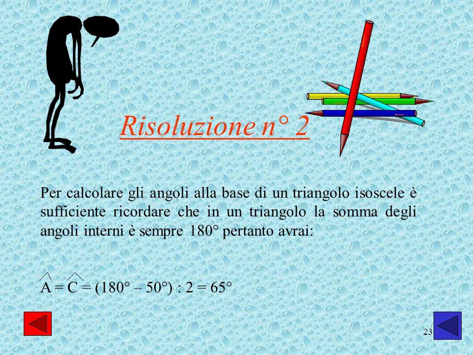 Risoluzione n° 2