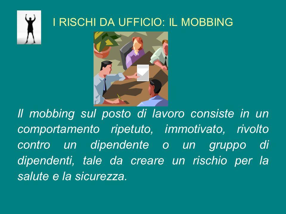 Il mobbing sul posto di lavoro consiste in un comportamento ripetuto bff9ed0d57a