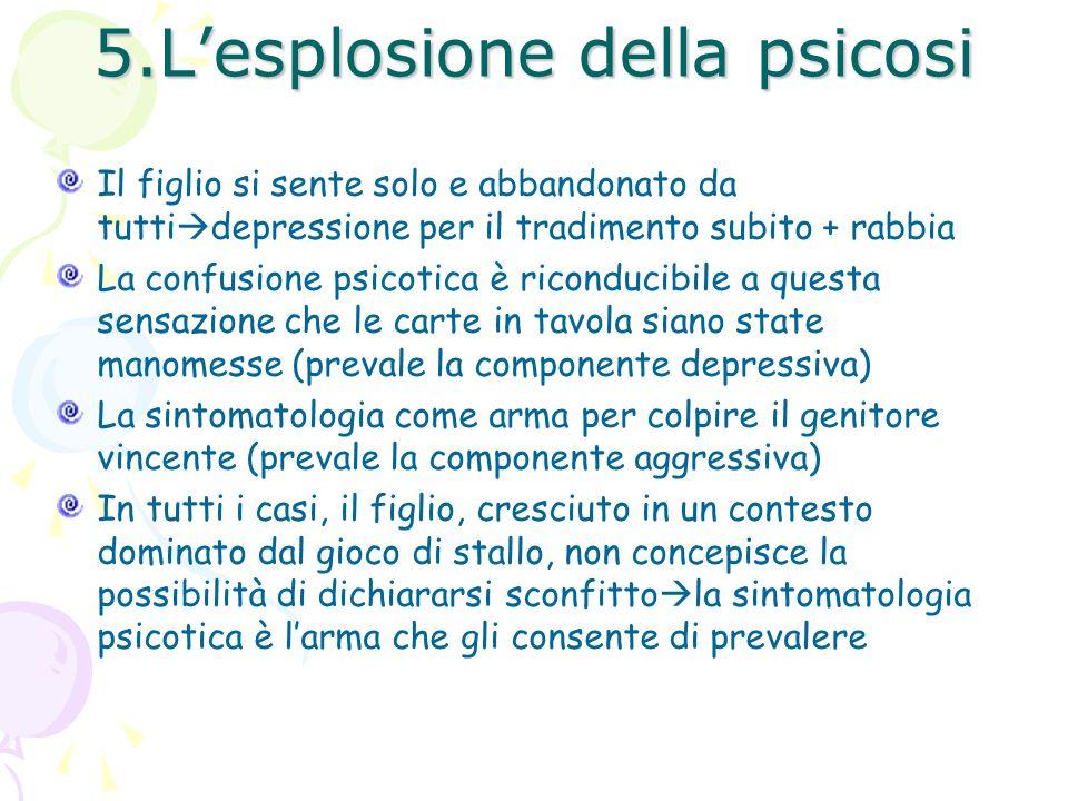 5.L'esplosione della psicosi