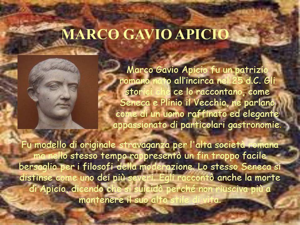 MARCO GAVIO APICIO
