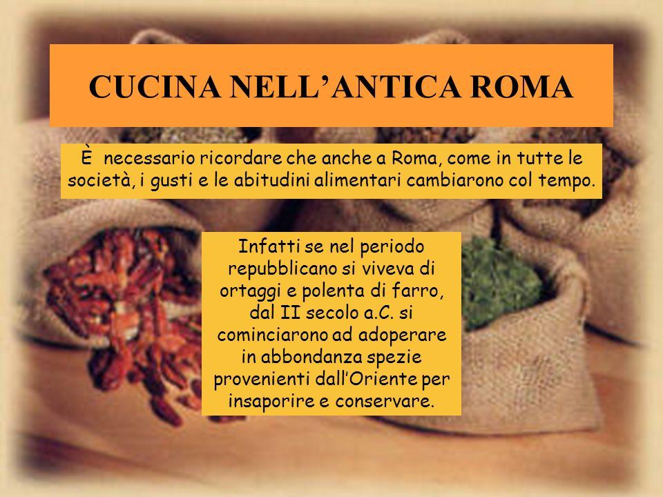 CUCINA NELL'ANTICA ROMA